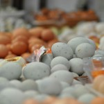 Eggs at Cao Yang markets